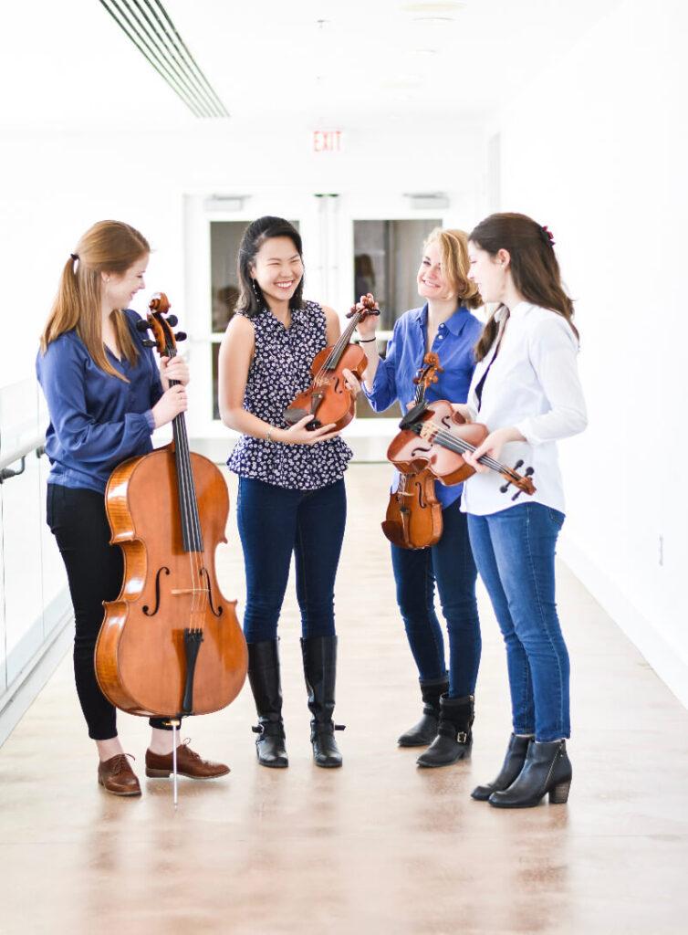 Kalkaska String Quartet in Michigan