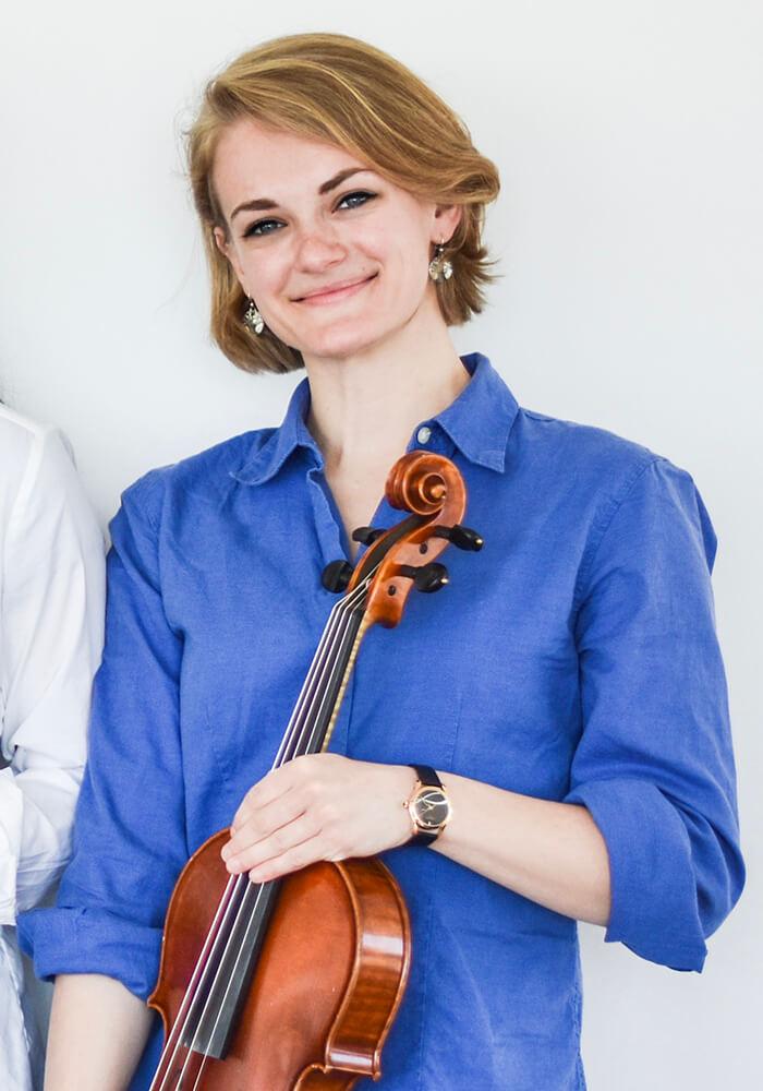 Zola Hightower Kalkaska String Quartet