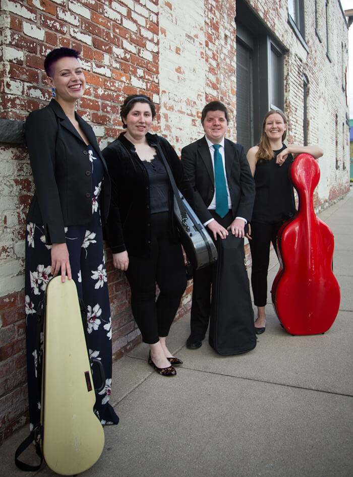 Booking info Kalkaska String Quartet in Michigan
