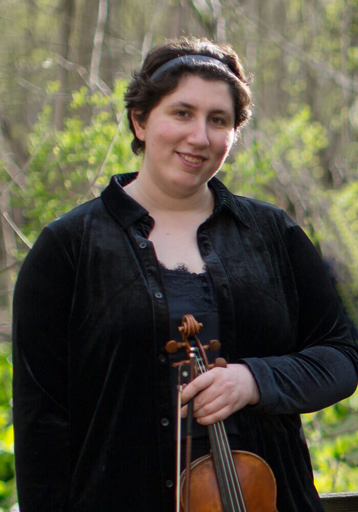 Emelyn Bashour Violin Kalkaska String Quartet