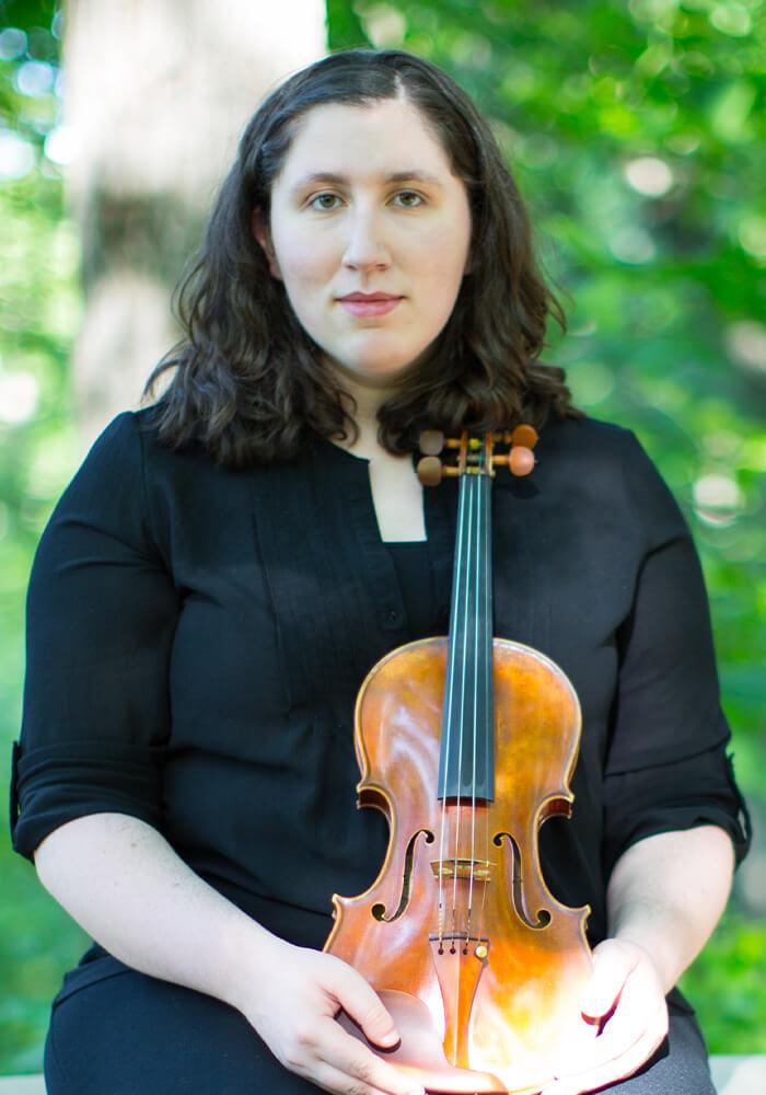 Emelyn Bashour Kalkaska String Quartet Violin