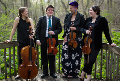 Jesu Joy Of Mans Desiring Kalkaska String Quartet